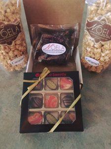 Delivering Noela Chocolate (a Kindleigh Partner) to strangers