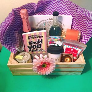 Surprising a Mom with a Mother's Day Gift Basket