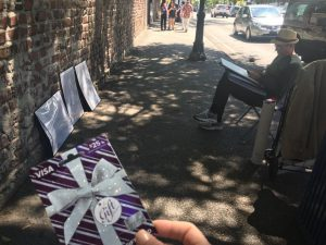 Giving Gift Cards To Street Artists