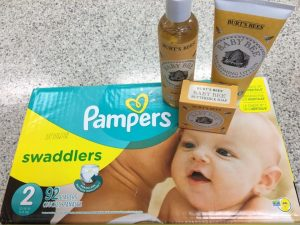 Buying Baby Supplies for a Parent in Need